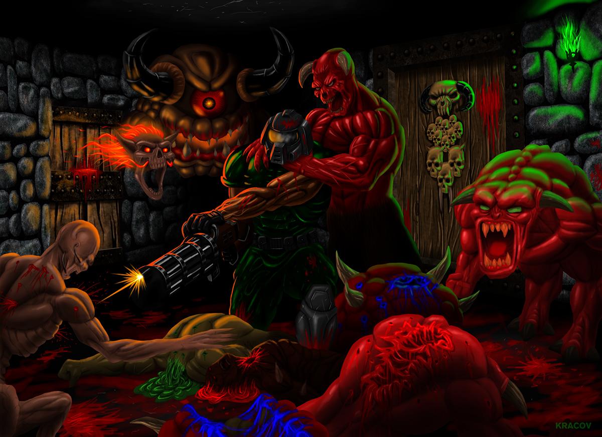 brutal doom wallpaper - photo #11