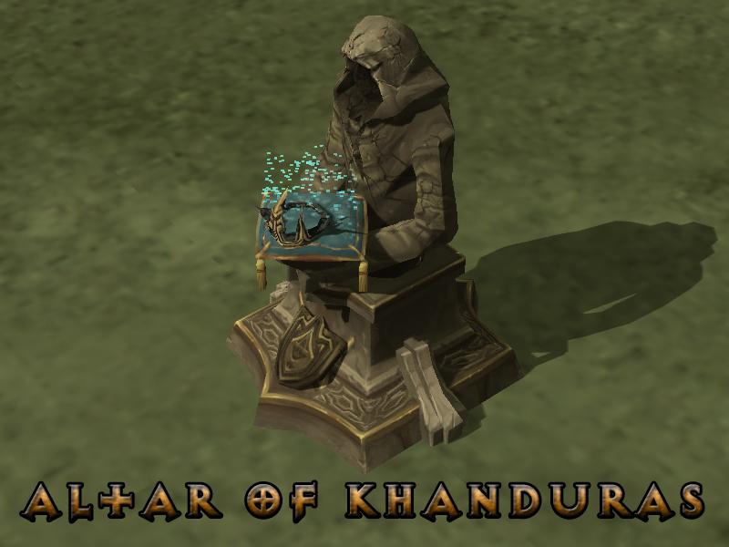 Altar of Khanduras