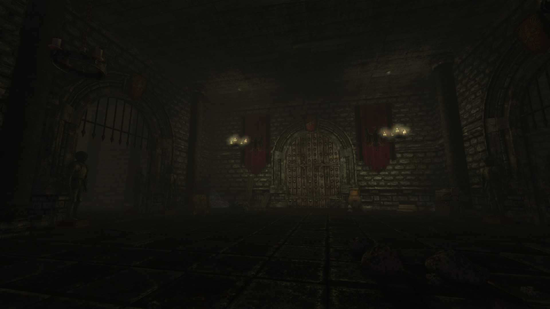 Lower Level Hub Image The Black Eagle Castle Mod For