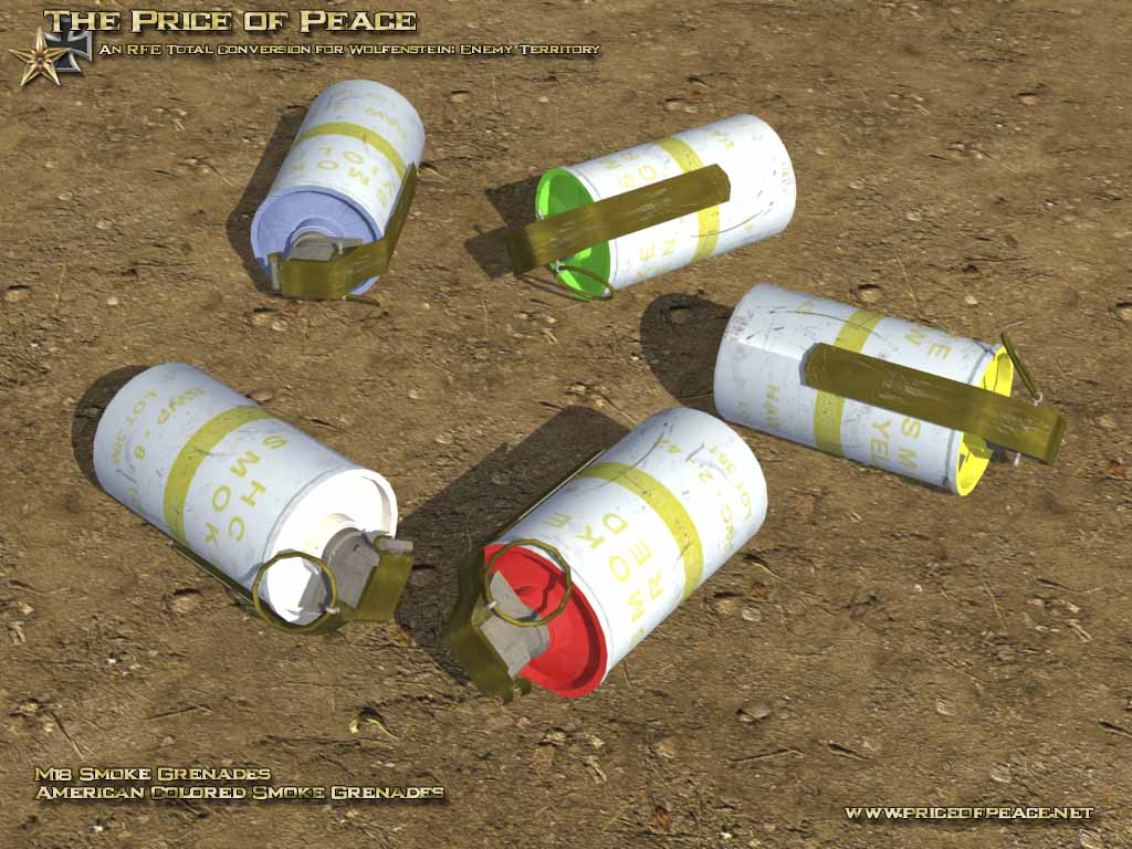 American M18 Smoke Grenades image - The Price of Peace mod for Half