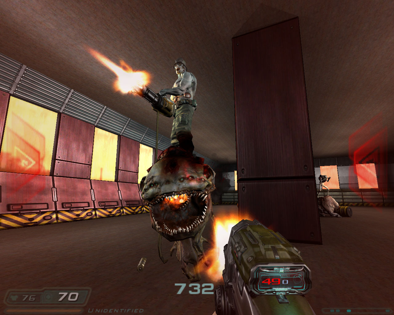 Nonsensical gameplay image - The Alpha Mod for Doom - Mod DB