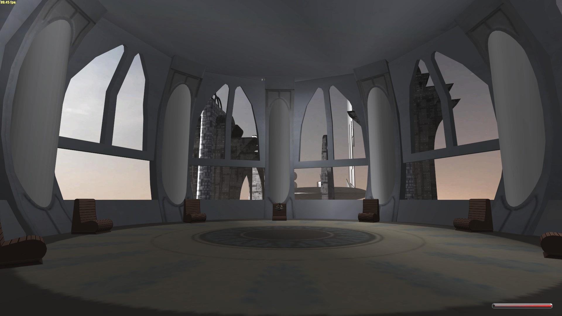 Remade Jedi Council Room Image Clone Wars Conquest Mod