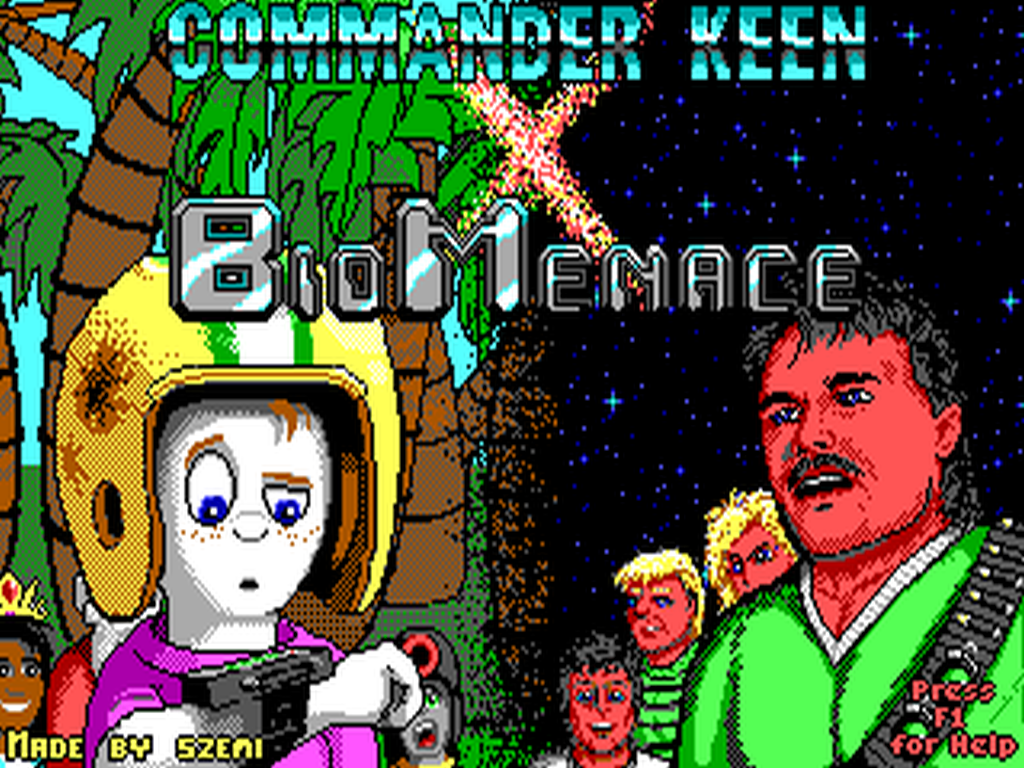 Commander Keen X Bio Menace mod - Mod DB