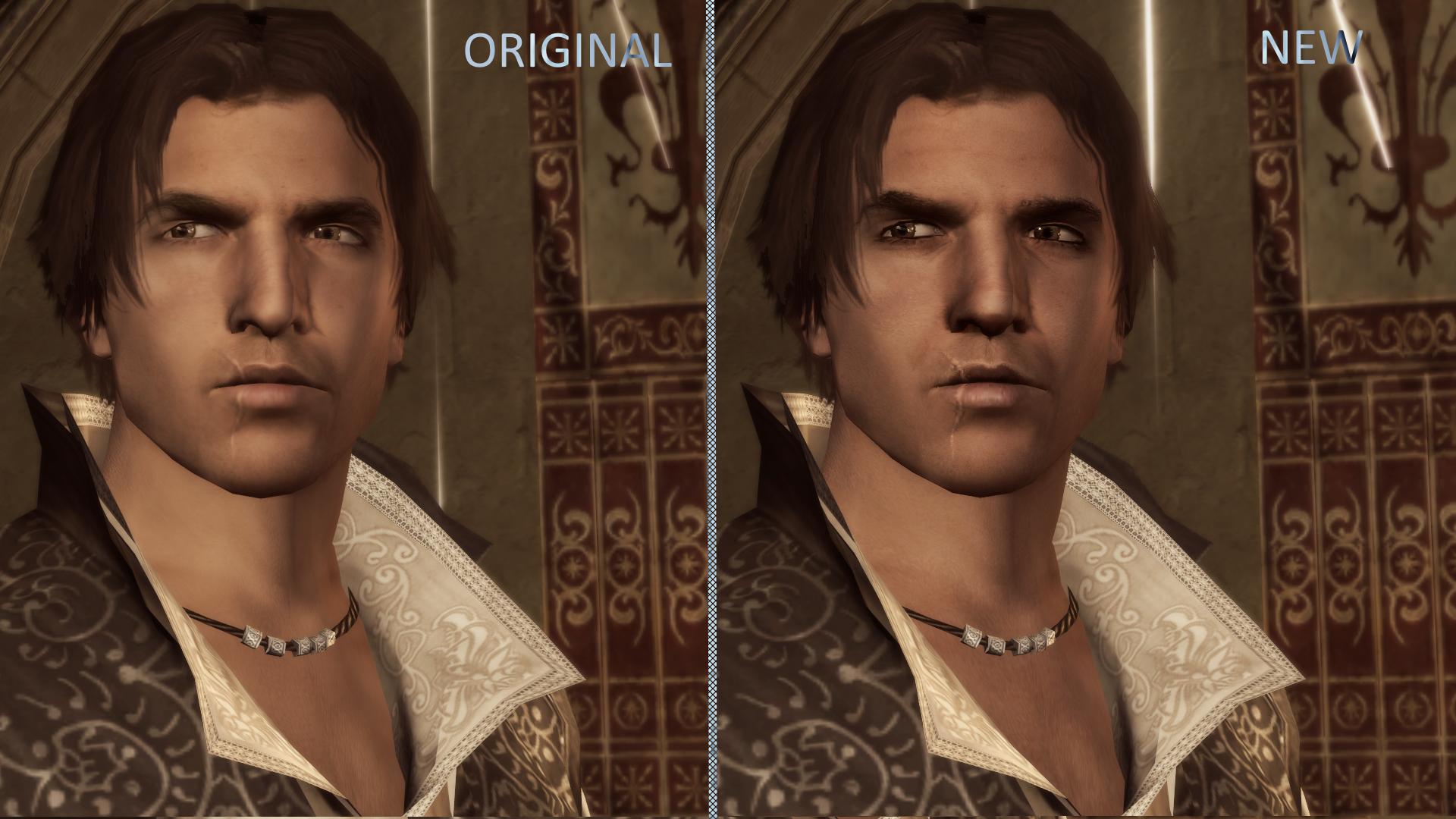 Ezio Auditore Da Firenze An Assassins Creed Face Preset At