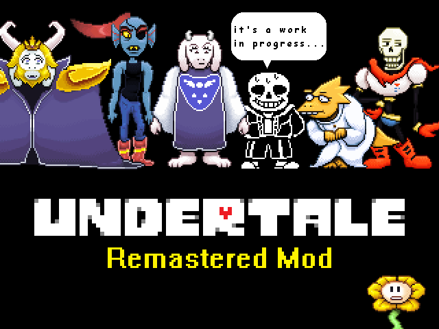 Undertale Remastered Mod v0 5 9 - Mod DB