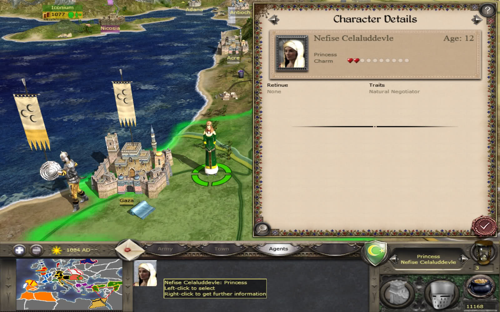how to create princesses in medieval total war 2