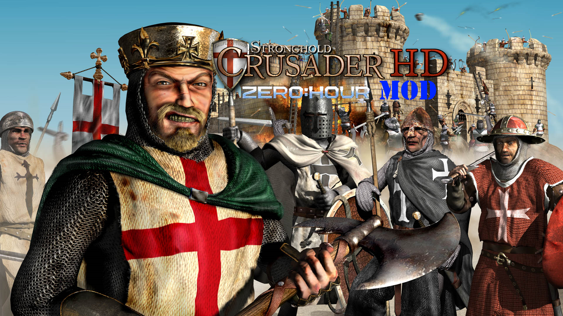 Stronghold Crusader Zero Hour Mod Mod Db