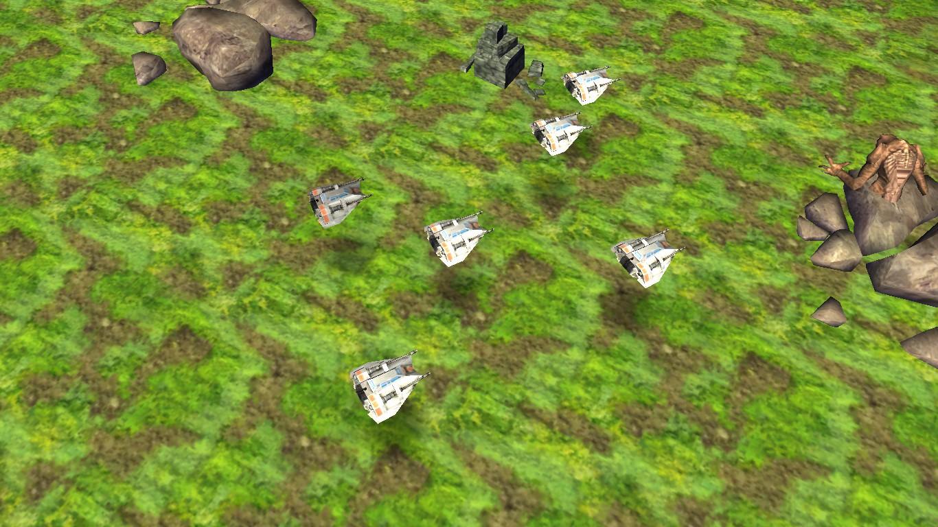 Snowspeeders on Rakata Prime image - Star Wars: Prelude to Awakening