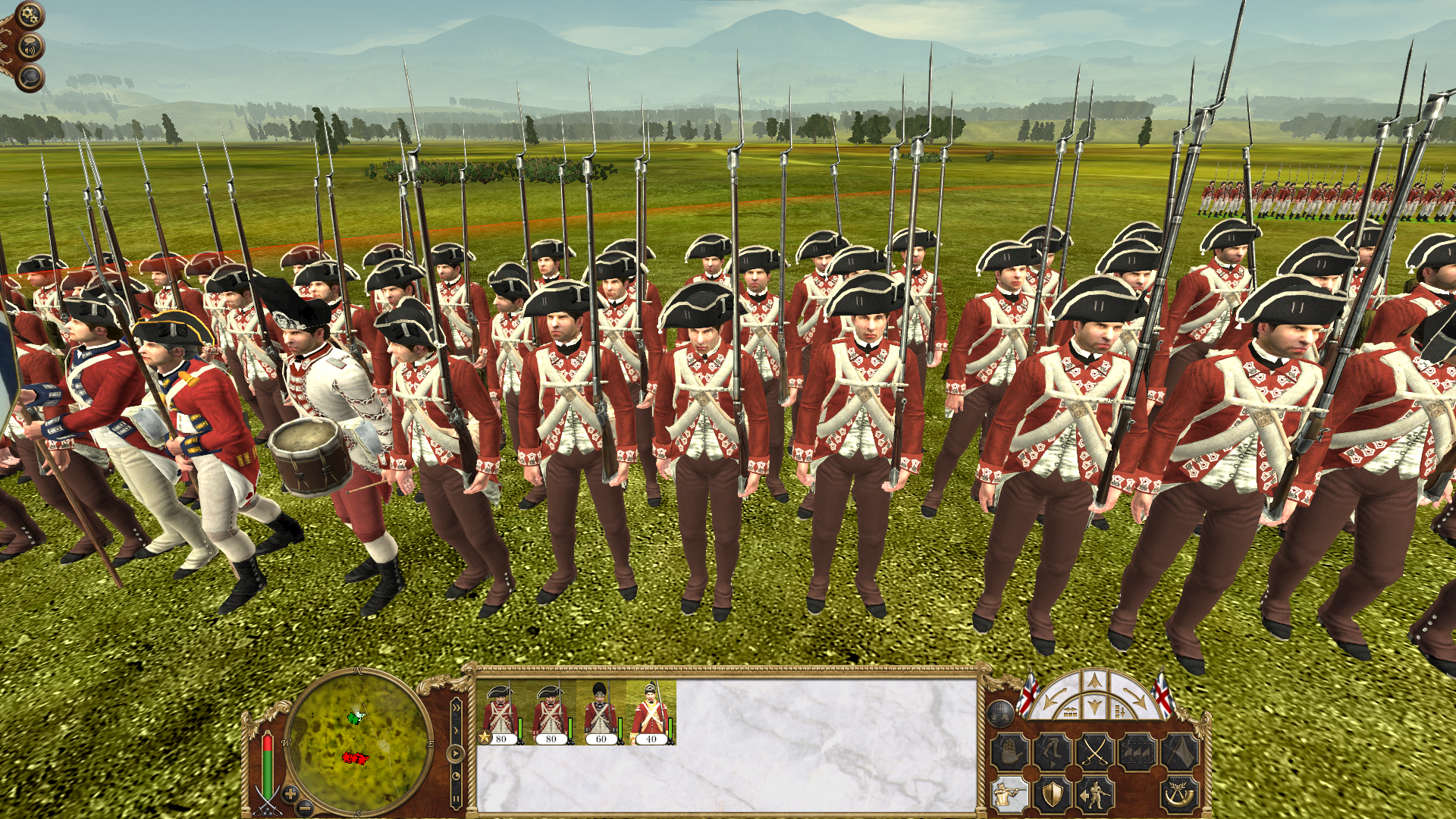 the majestys army in the age of the american revolution The red coats of the revolutionary war was a semi-professional force, trained only for conventional european warfare the british army was relatively small in stature by european standards, but supposedly superior to the inexperienced militia forces of the continental army initially available to the patriots.