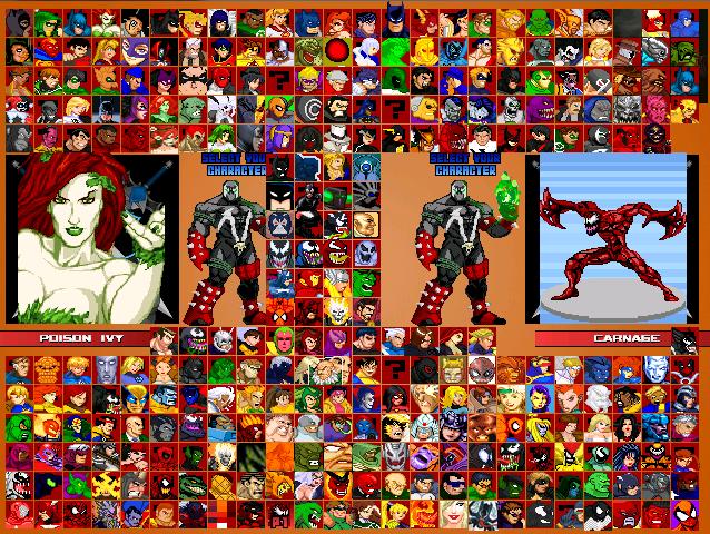 Mr_Nygren's Marvel VS DC-Universe MUGEN V. 4.0 NEW (2019) Released in june 2019!
