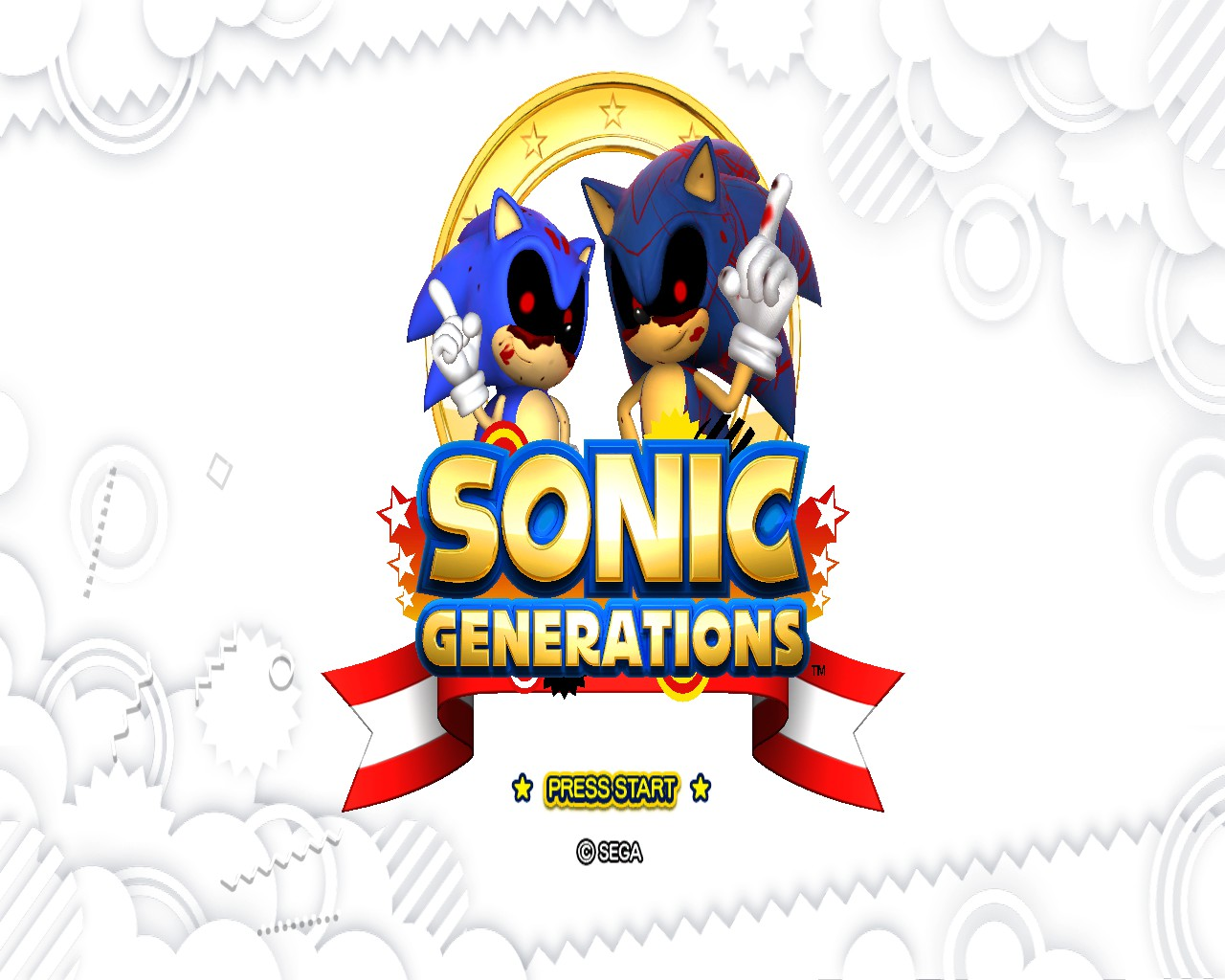 Image 3 - Sonic EXE Generations mod for Sonic Generations
