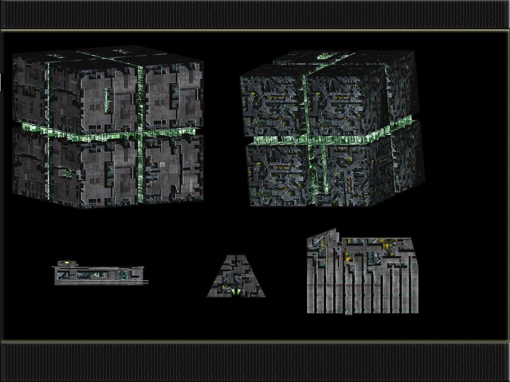 Borg ships image - Project Armada 2 mod for Star Trek