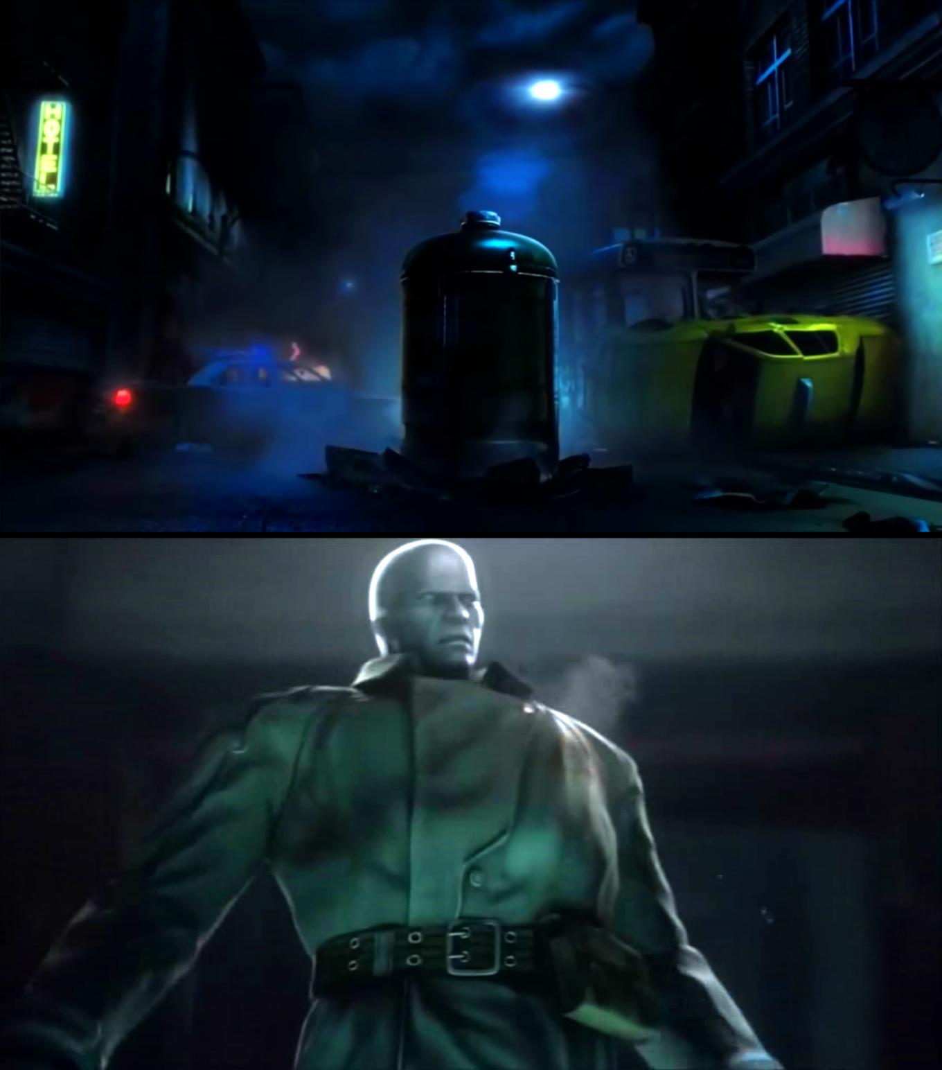 Cutscene Boss Fight Mr X Image Resident Evil 2 Survivors