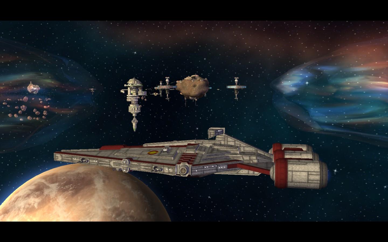Arquitens Class Light Cruiser Image Republic Assault The Clone