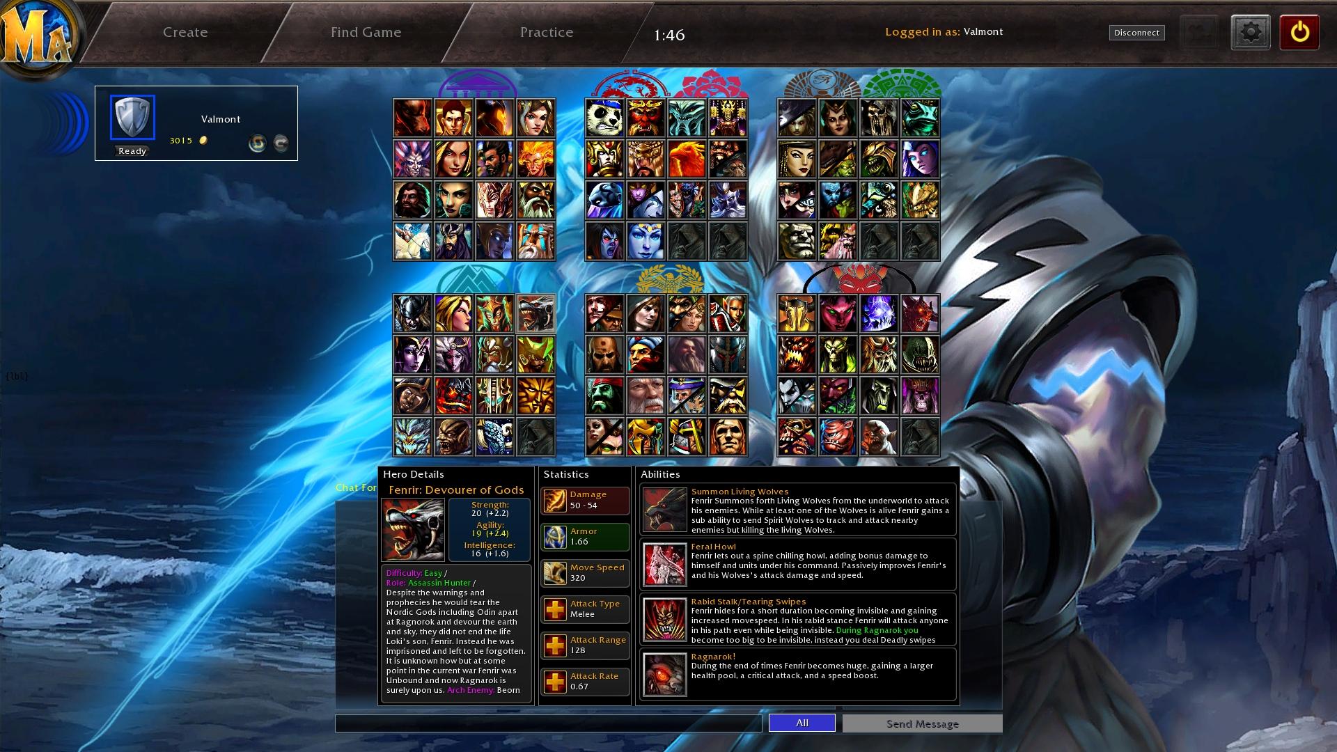 MA Legends Characters