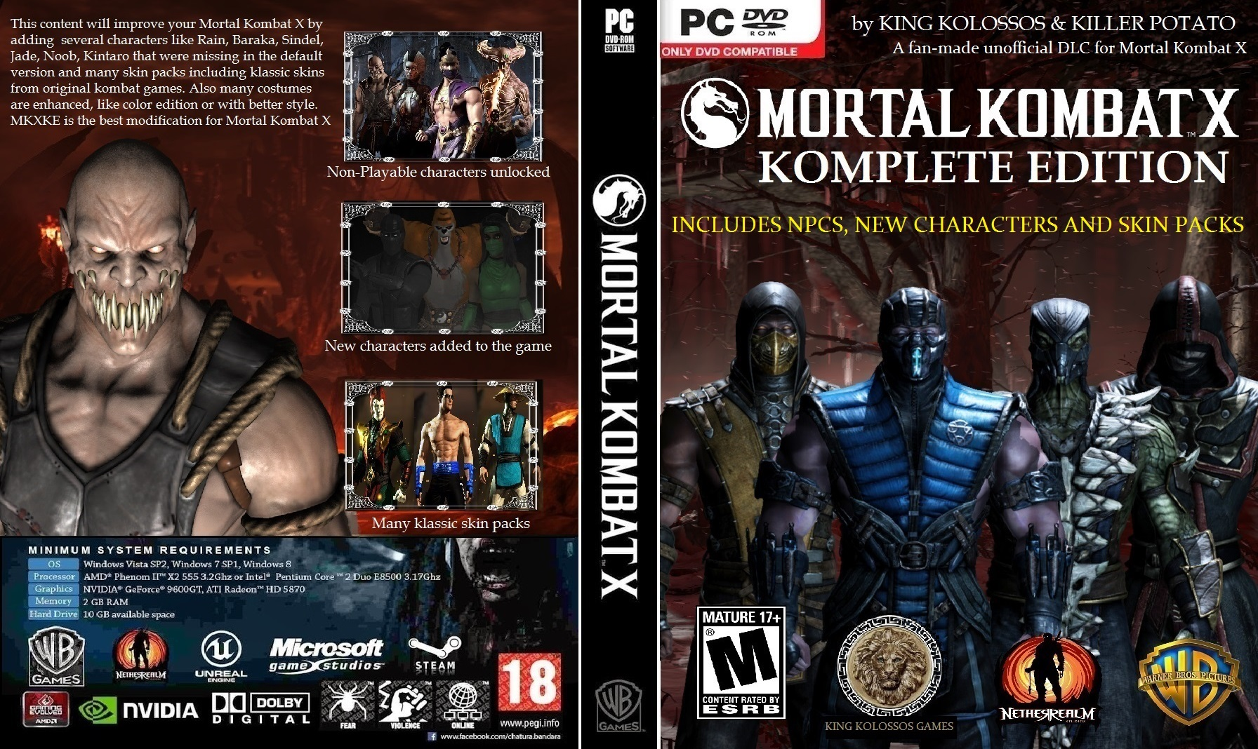 Mortal kombat komplete edition pc patch nude pictures
