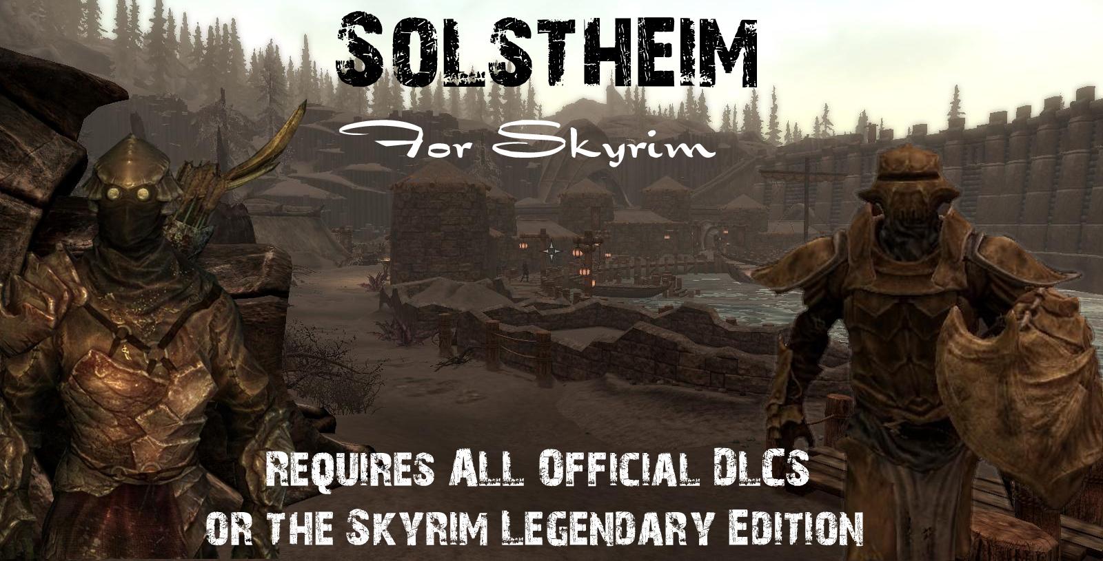 Solstheim V2.6 mod for Elder Scrolls V: Skyrim - Mod DB