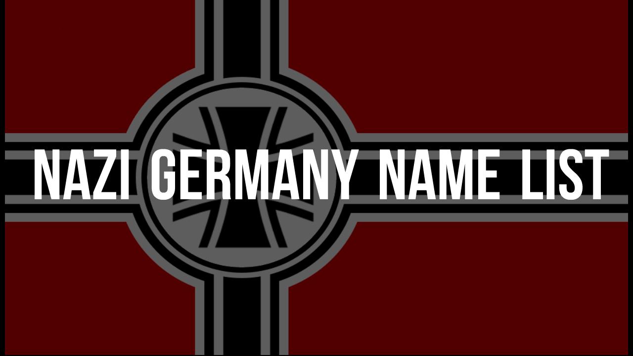 Nazi germany name list mod for stellaris mod db biocorpaavc Image collections