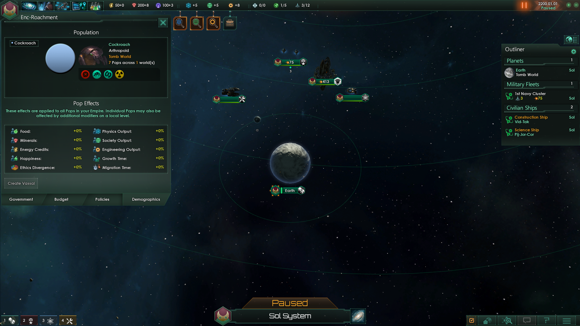 Image 3 - Stellaris: Cockroaches mod for Stellaris - Mod DB