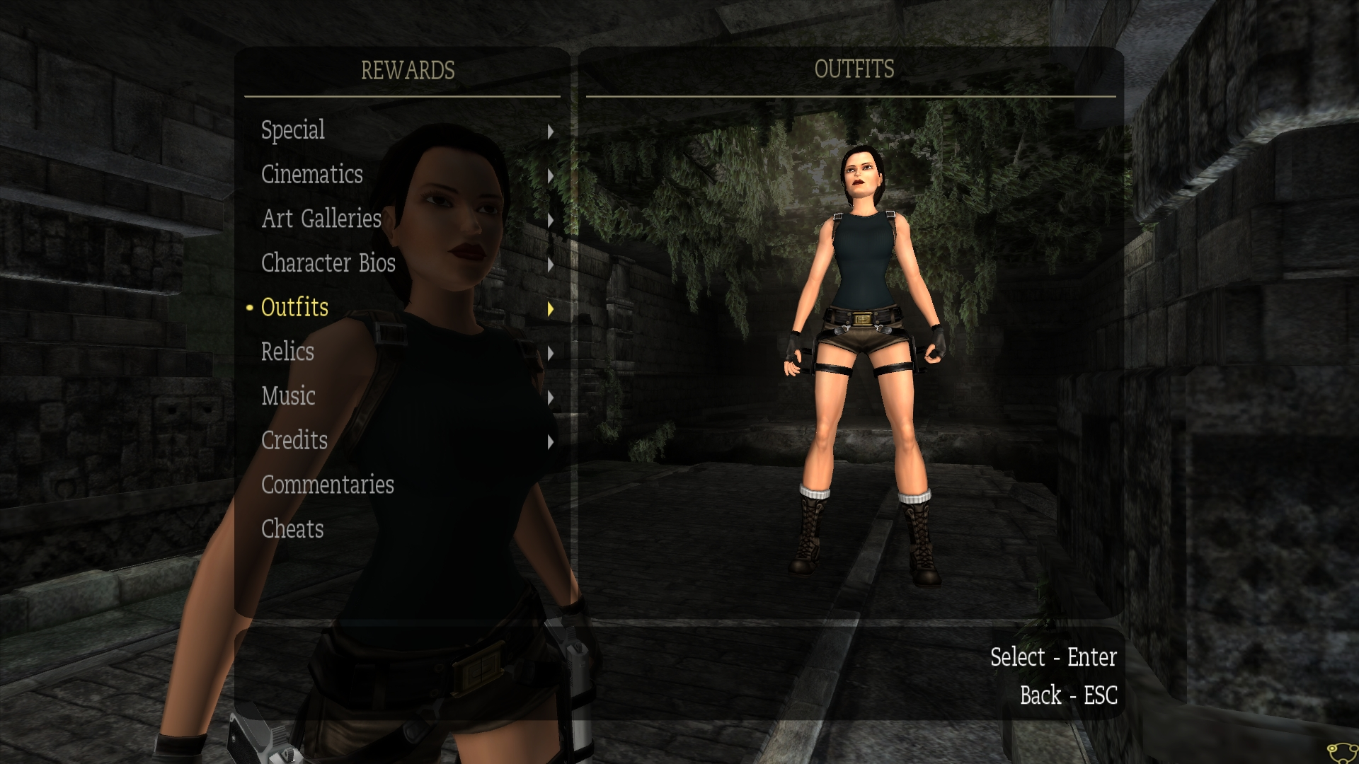 Image 1 - Darker Anniversary Outfit mod for Tomb Raider ...