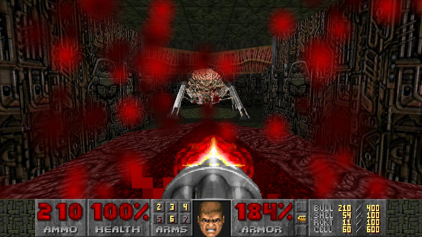 Secret Spider Mastermind Image Hells Incursion Mod For Doom Ii