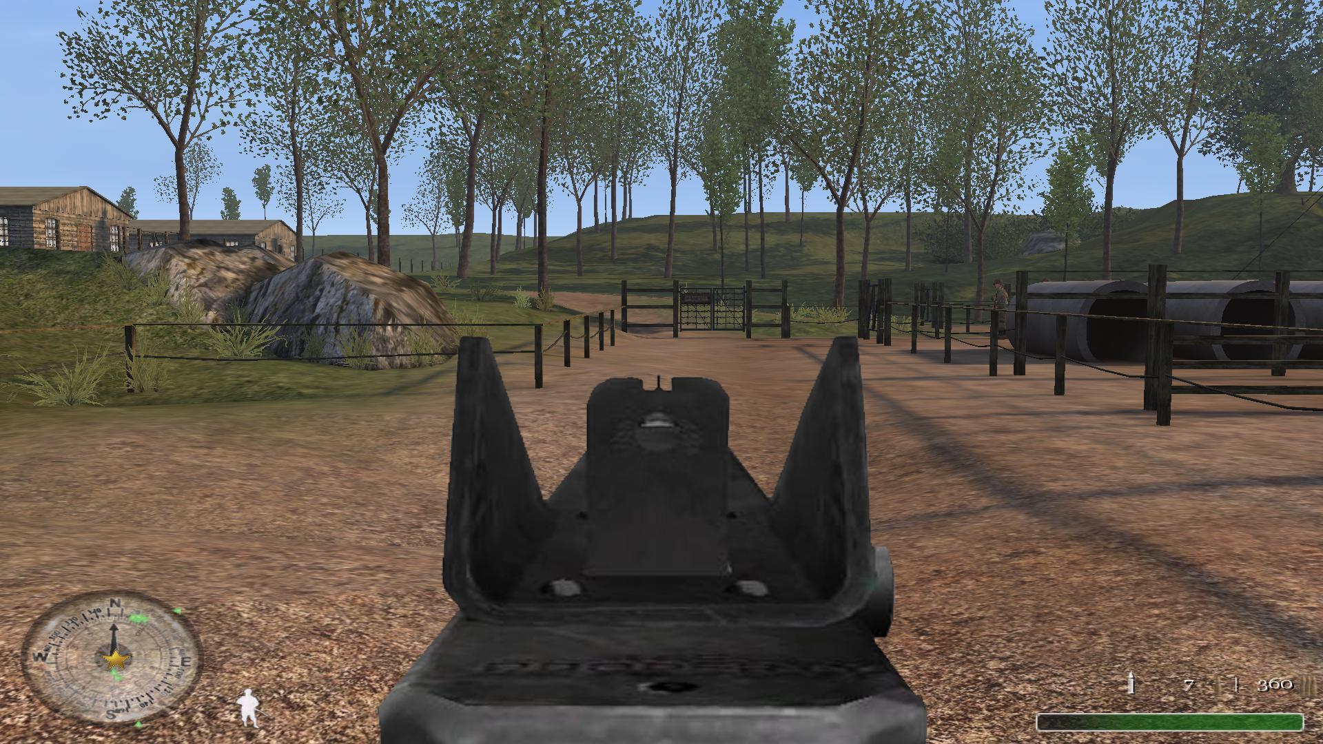 Semi-auto Thompson sight image - Call of Duty: United Fronts