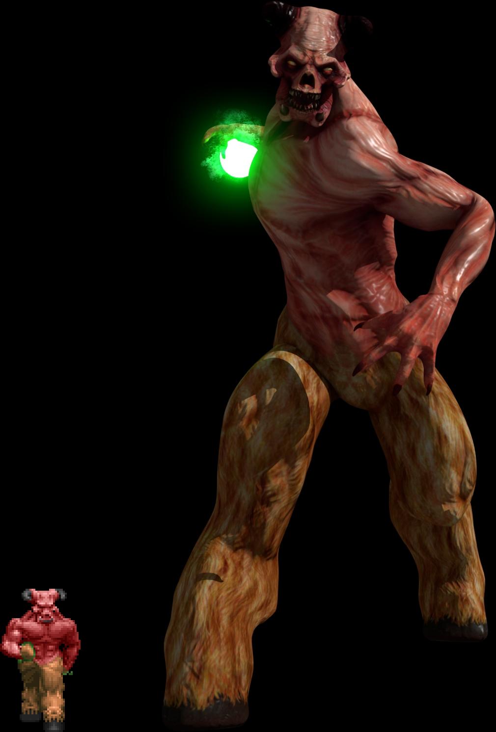 Bestiary Baron Of Hell Image Codename Doom Mod For