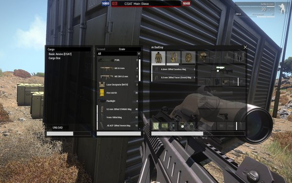 arma 3 how to add inventory space