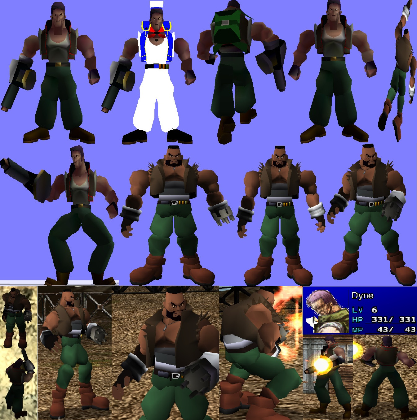 Final Fantasy 7 The Shinra CHARACTER overhaul MOD  - Mod DB