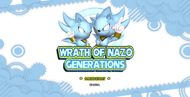 wrath of nazo generations mod mod db