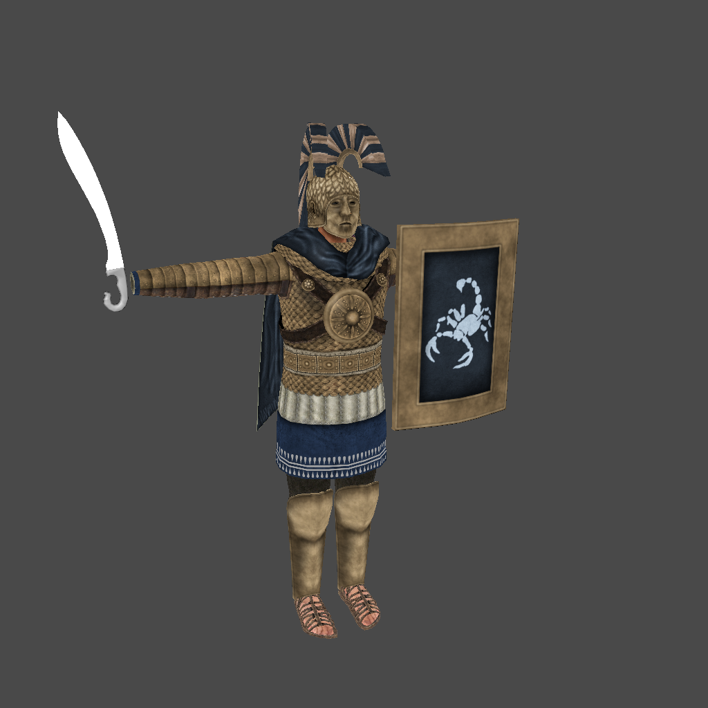 [SP][EN] Ancient time : Hegemony of Heroes Mykerinos_heaviest_warrior