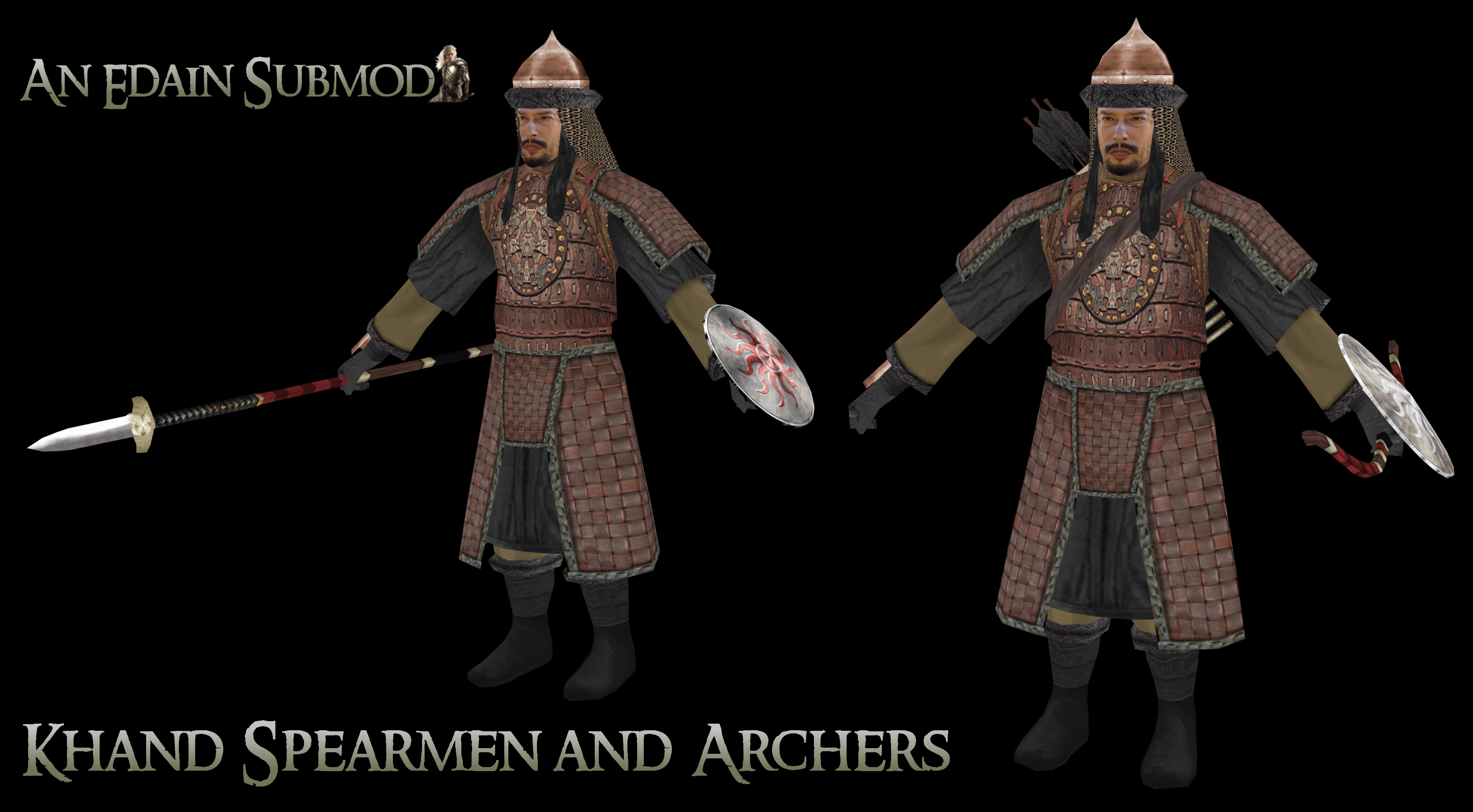 Khand Infantry, Spearmen and Archers