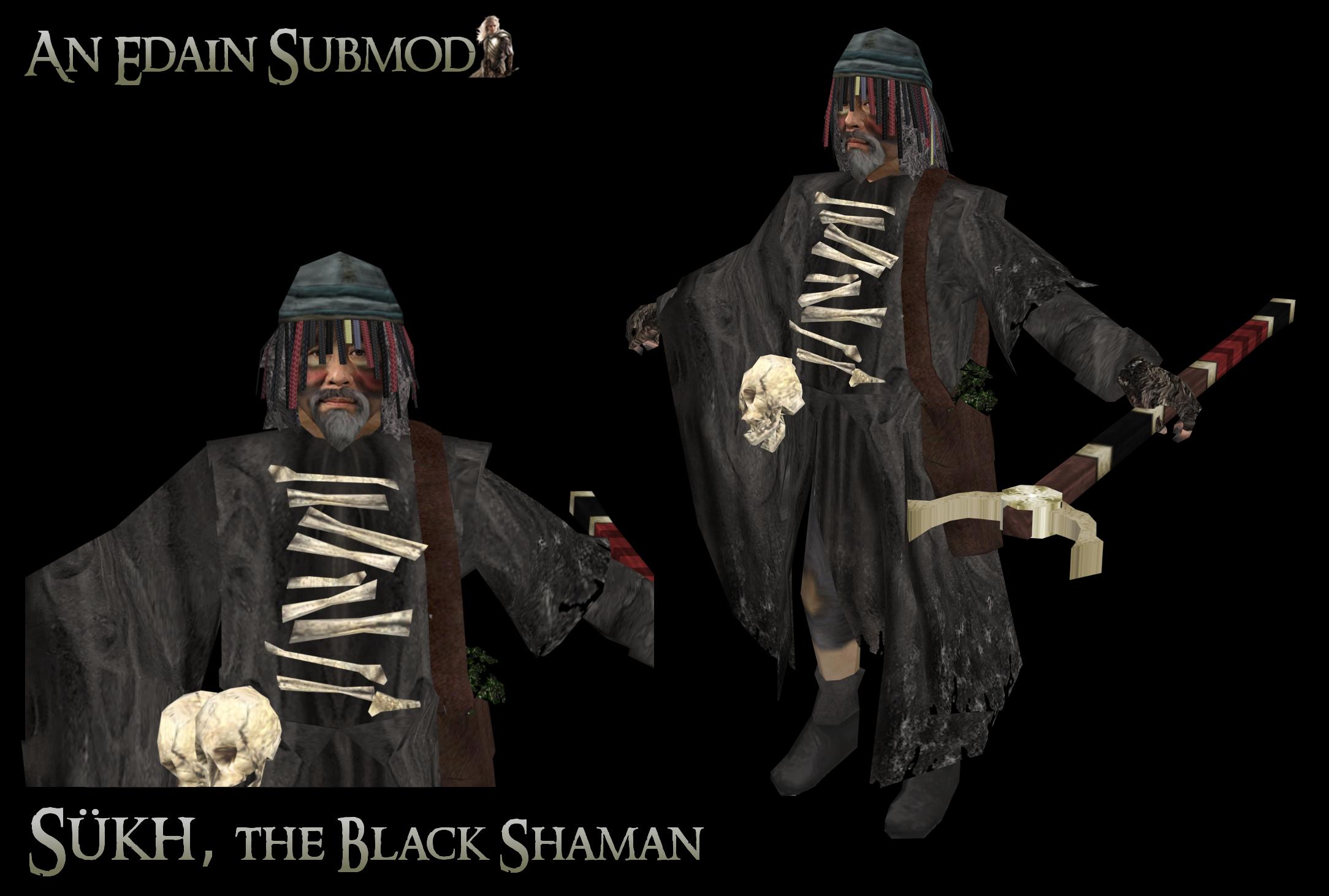 Sükh, the Black Shaman
