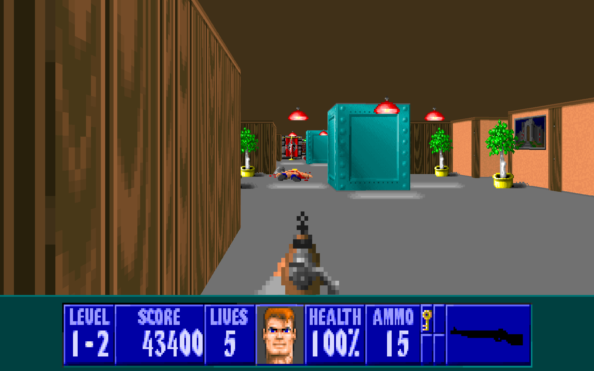 Wolfenstein missions screenshot image mod db for Wolfenstein 3d
