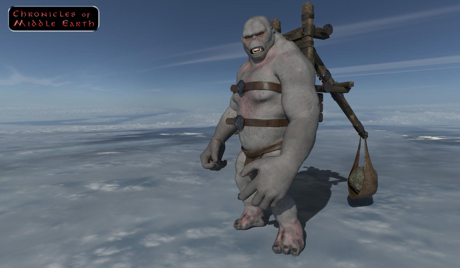 Guldur War Troll Image Chronicles Of Middle Earth Mod For Mount