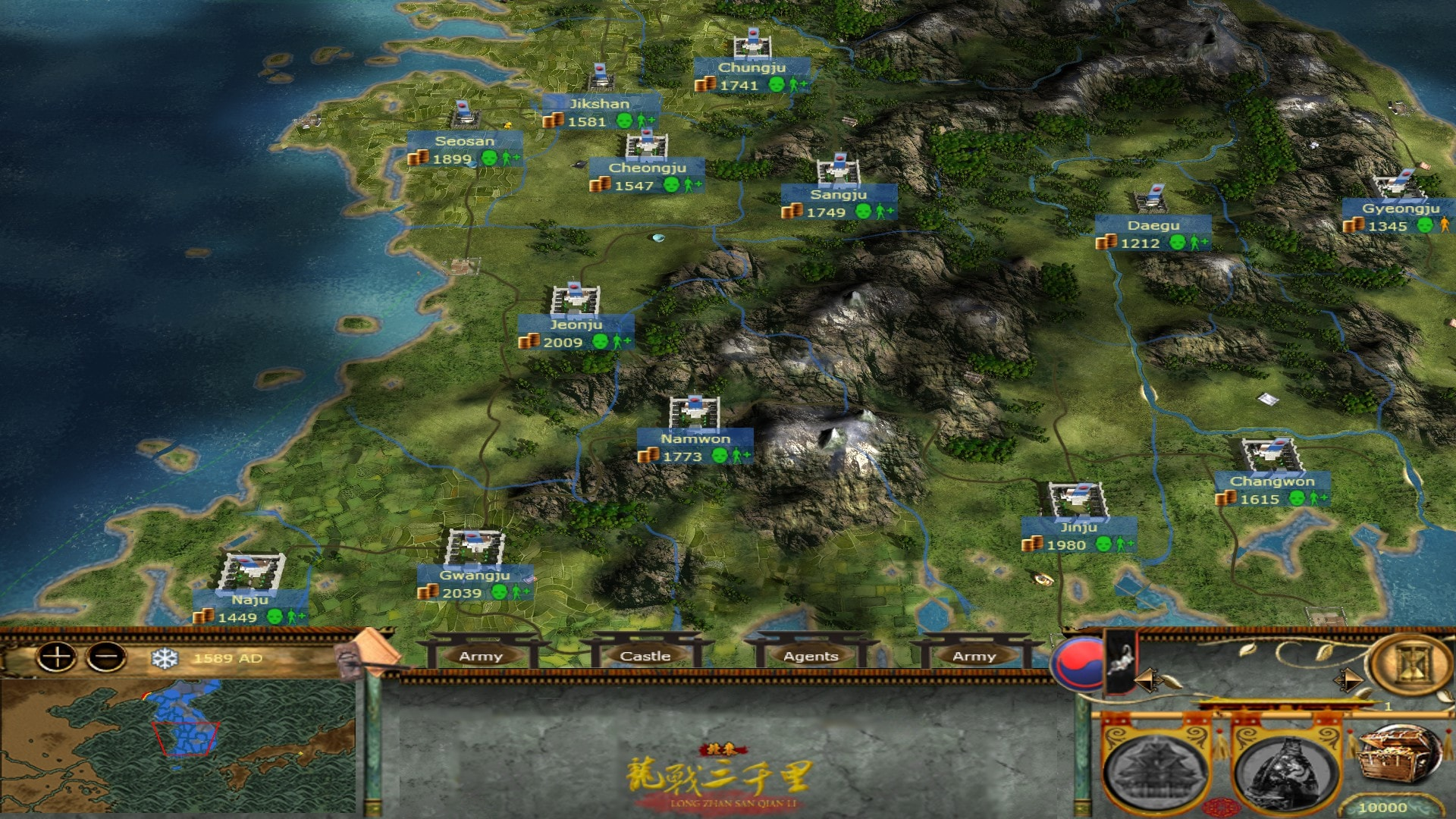 [MK] Imjin War of Korea Map01