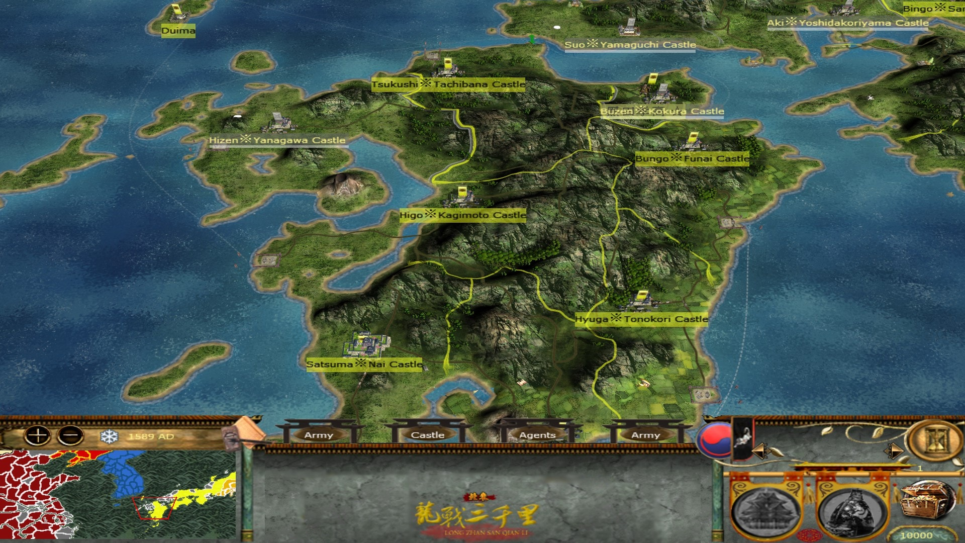 [MK] Imjin War of Korea Map02