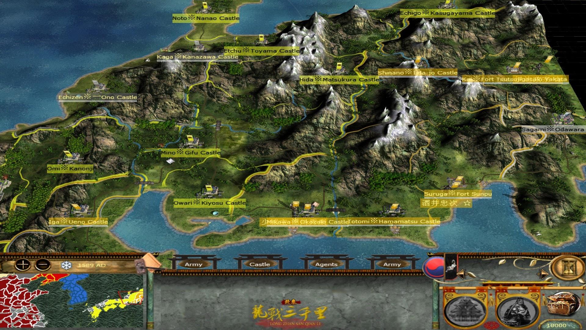 [MK] Imjin War of Korea Map03