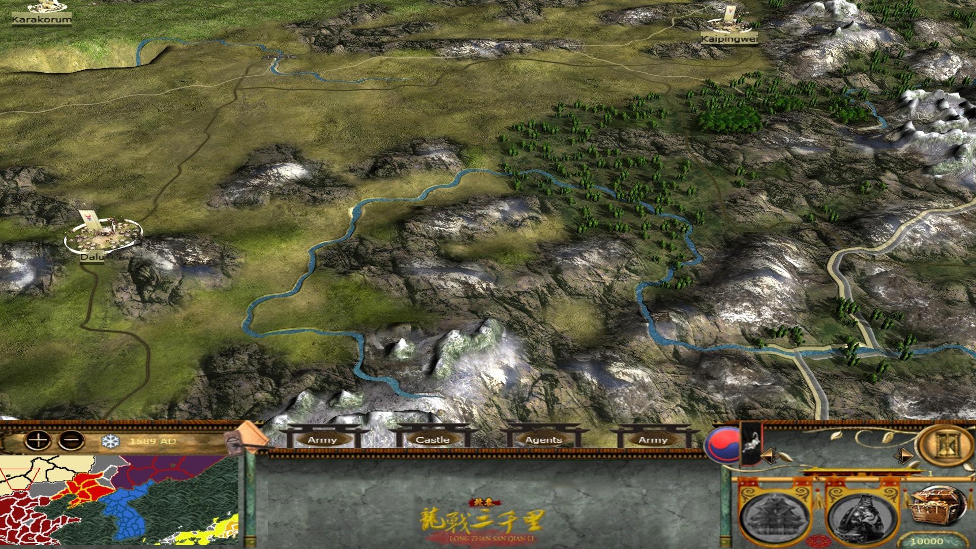 [MK] Imjin War of Korea Map05