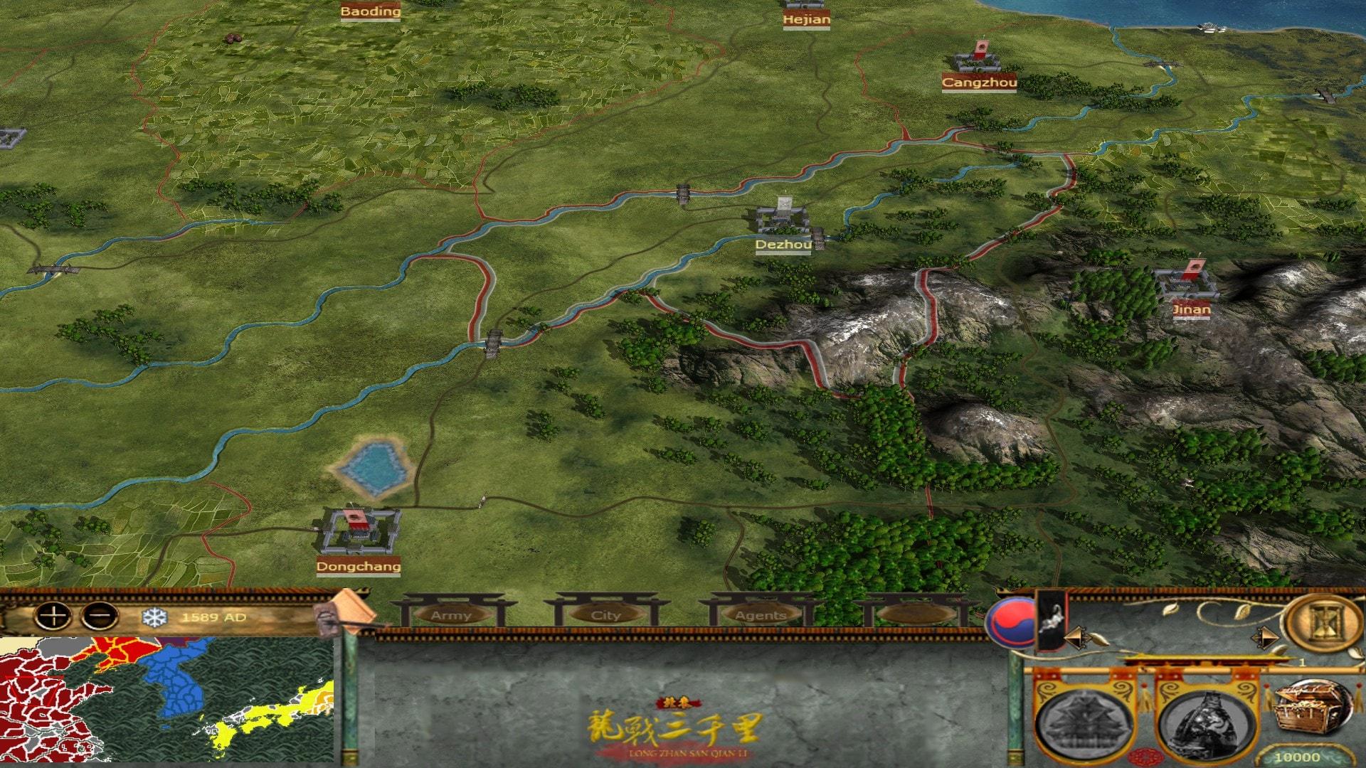 [MK] Imjin War of Korea Map08