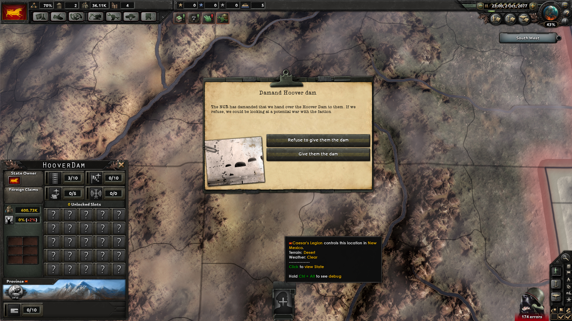 Demand Hoover Dam image - Hearts of Iron IV: Nuclear