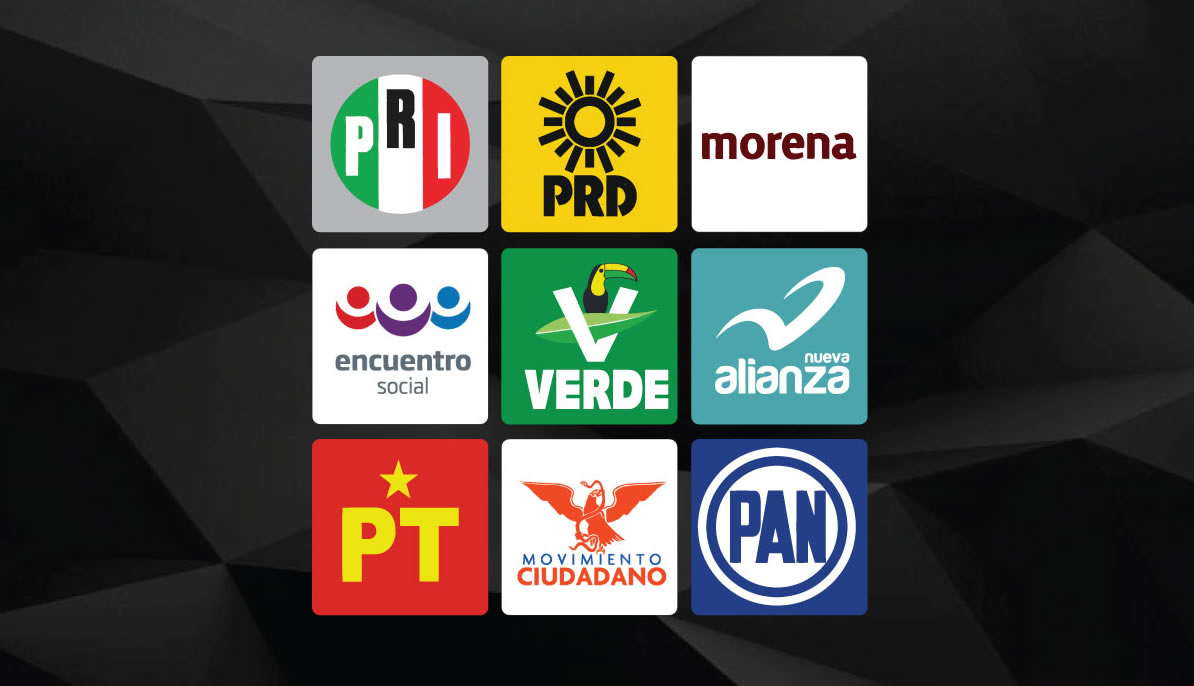 political parties in mexico Its politics follow the traditional mexican model too: plaques  power remained within the institutional revolutionary party (pri), and within.