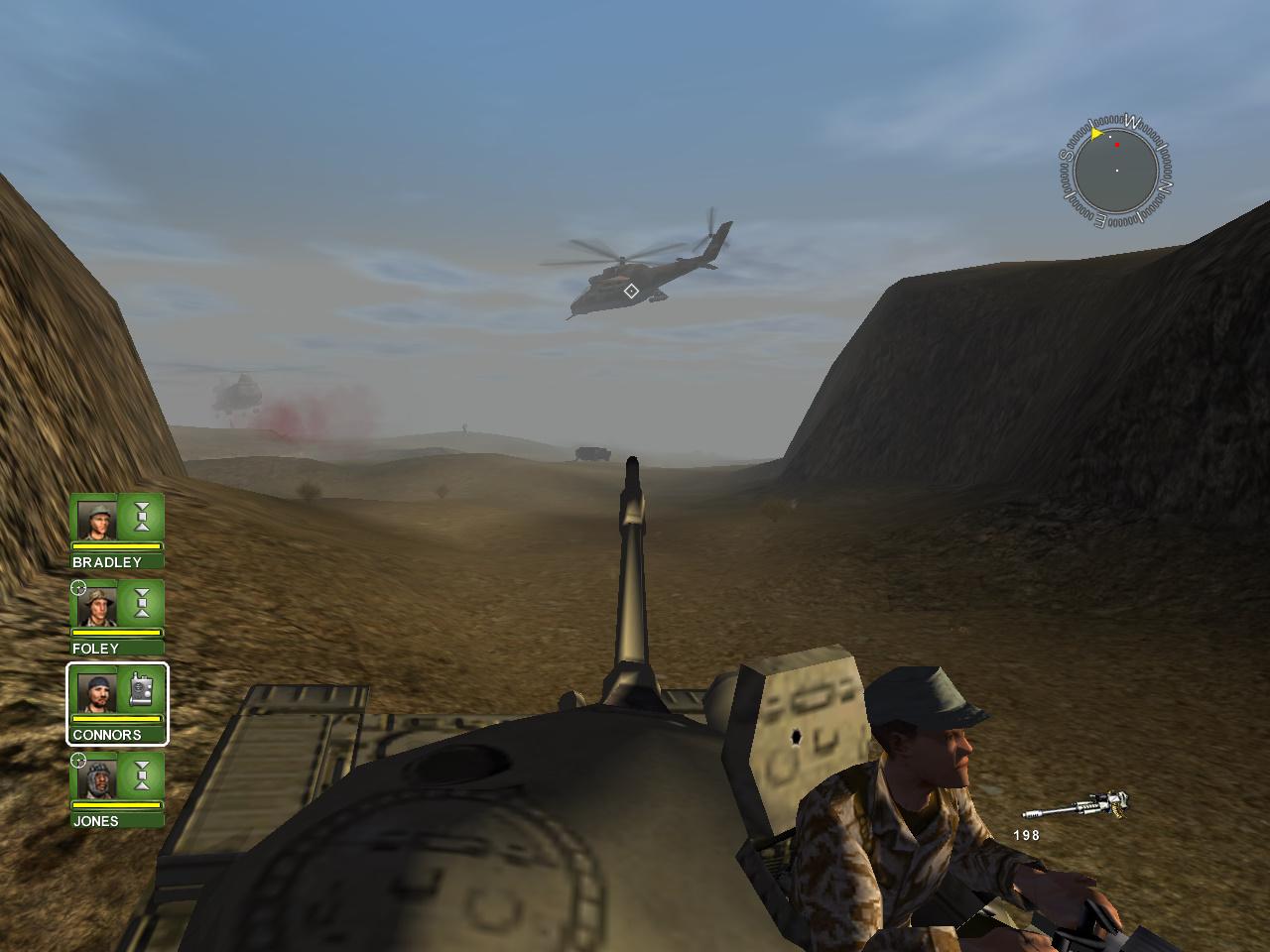 desert storm mission