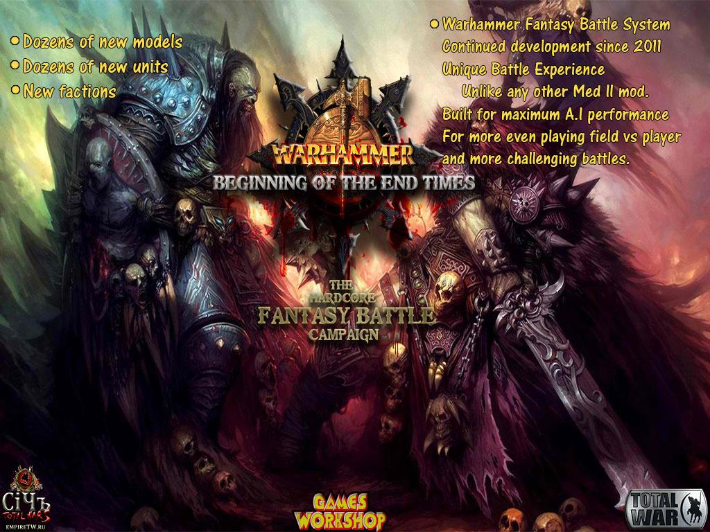 BotET: Hardcore Fantasy Battle Campaign mod for Medieval II: Total