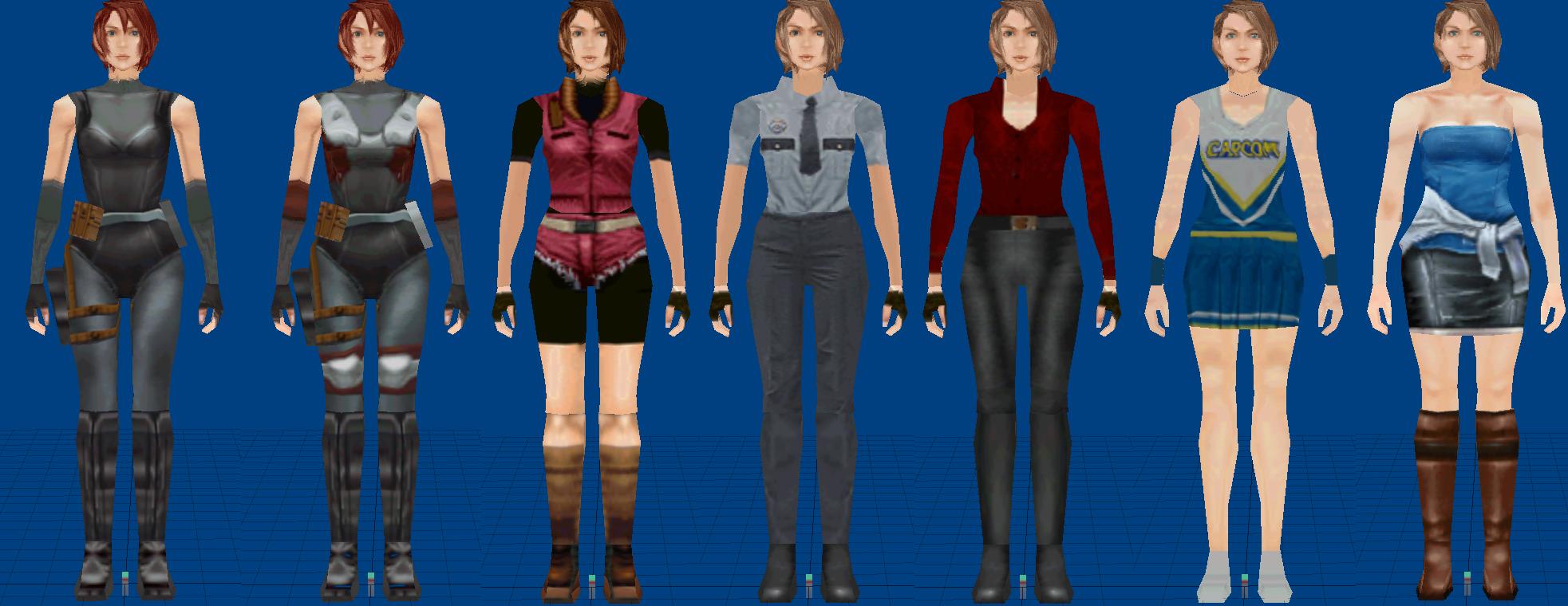 resident evil 3 jill original costume