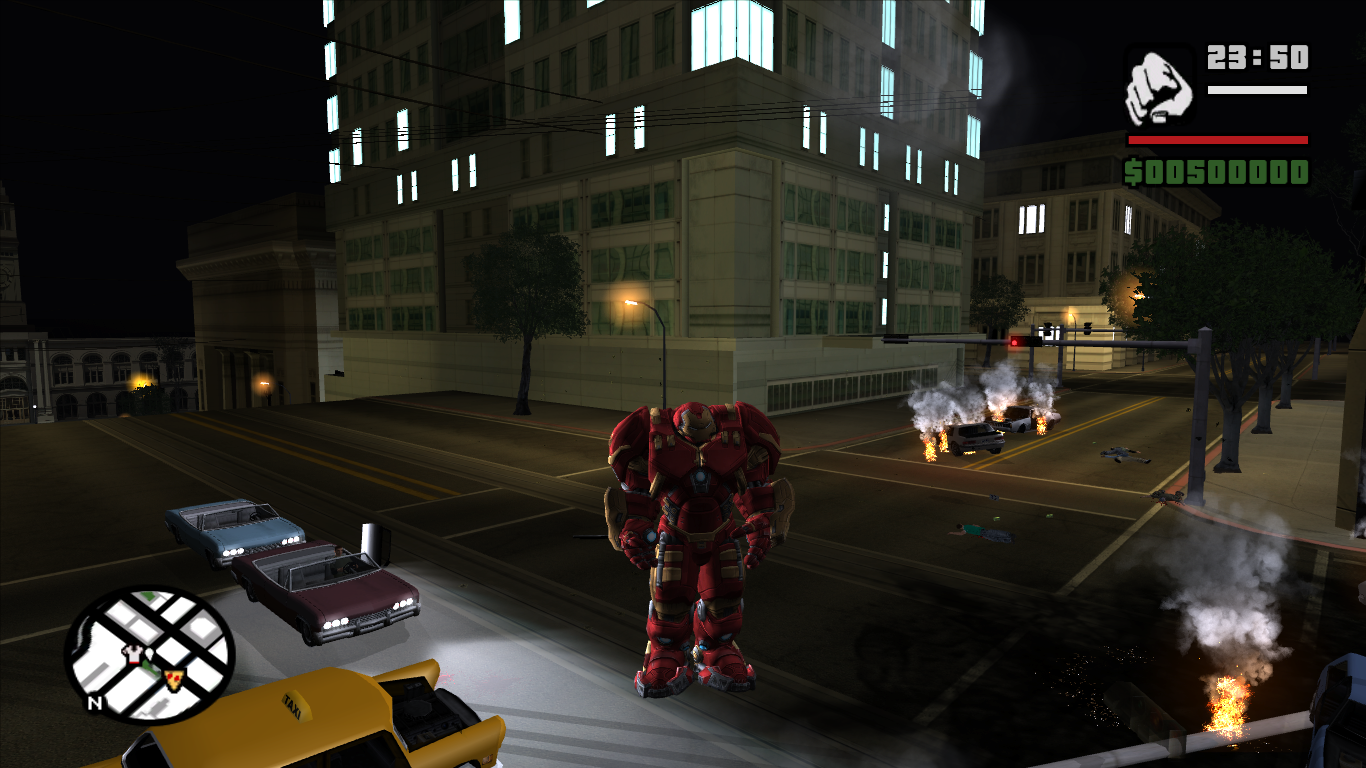 GTA Iron Man mod Original version by Maxirp93 - Total