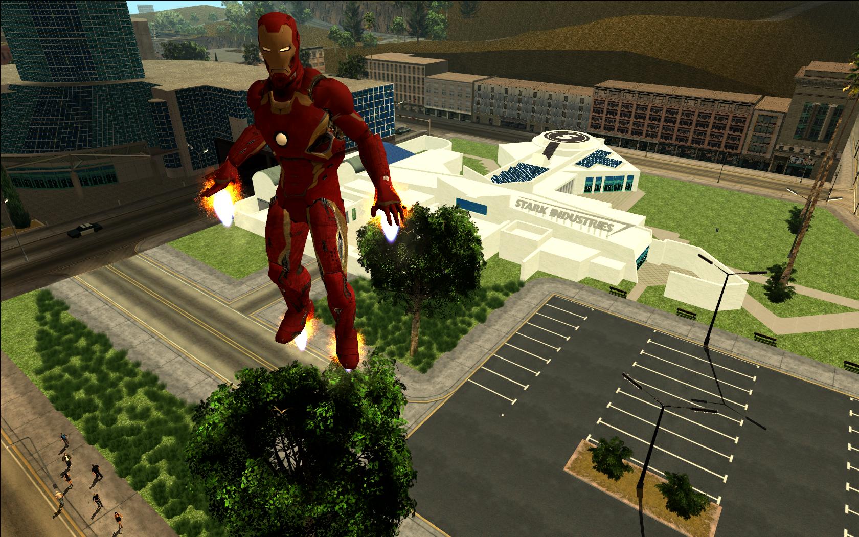 Install Iron Man Mod Gta San Andreas