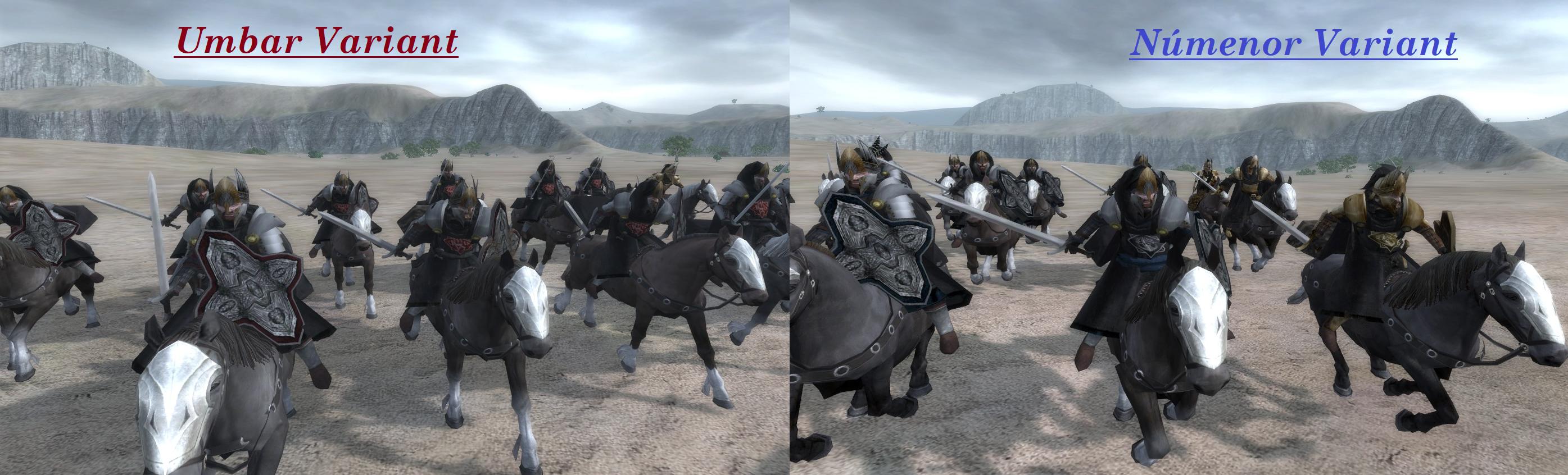 Alcarondas Faithful - Umbar and Númenor variants image - Third Age