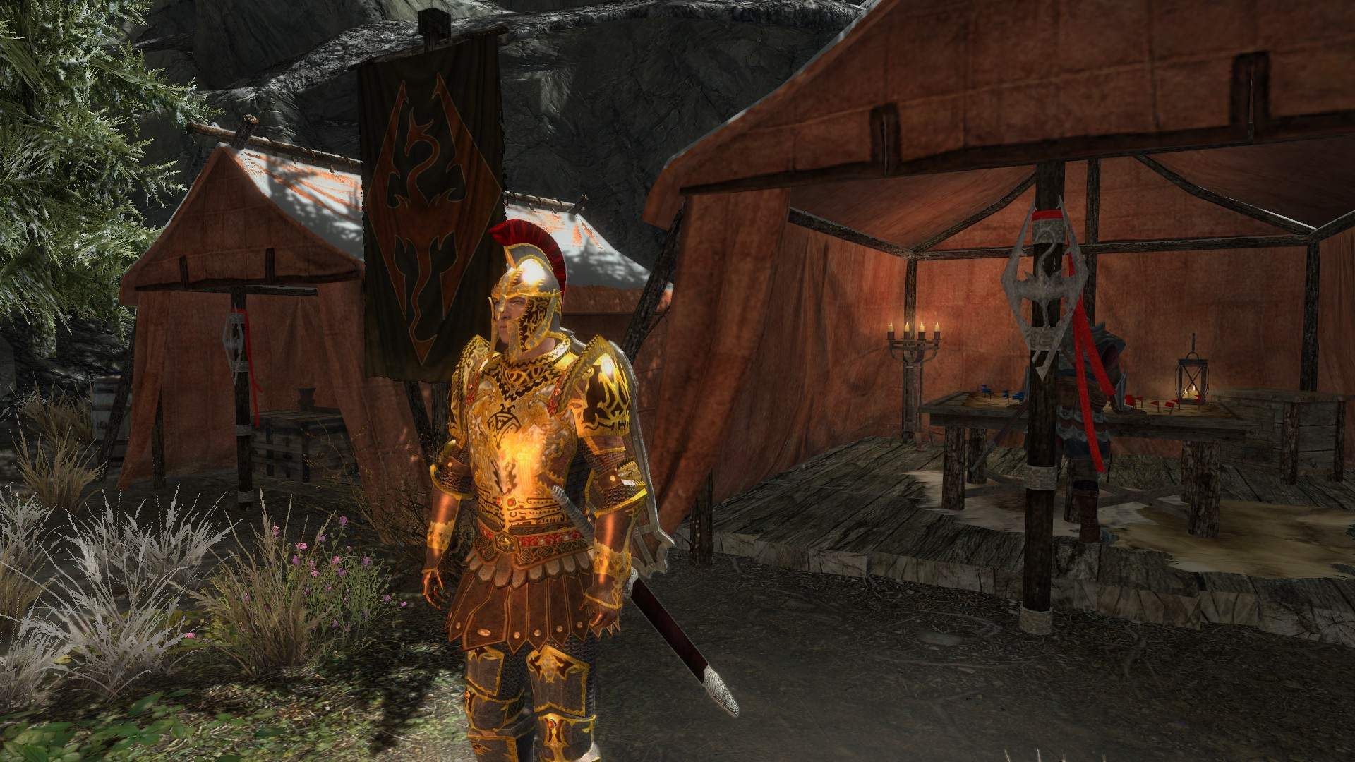 Weapons and Armors from Cyrodiil mod for Elder Scrolls V