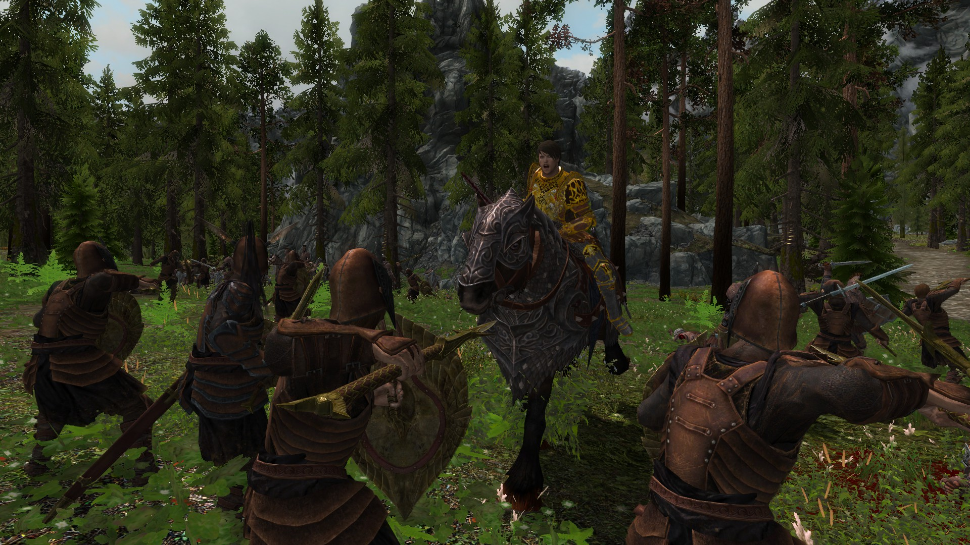 Tiber Septim image Weapons and Armors from Cyrodiil mod